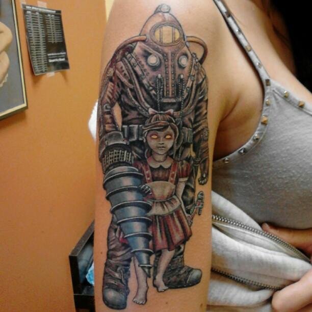 bioshock big daddy tattoo tattoo com