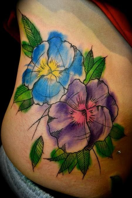 Looking For A Painterly Style Tattoo Of Dogwood Tattoo Com