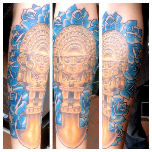 Austin Archer Apprentice At Kingdom Tattoo Tattoocom