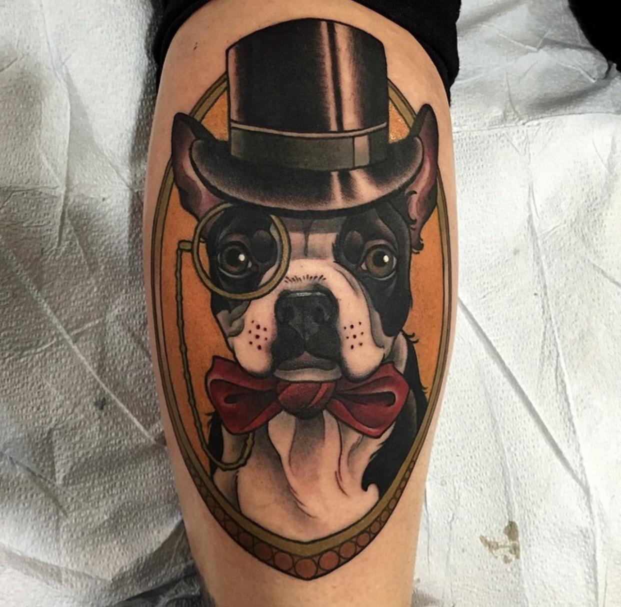 fullsizerender7 - Neo Traditional Tattoo Dog