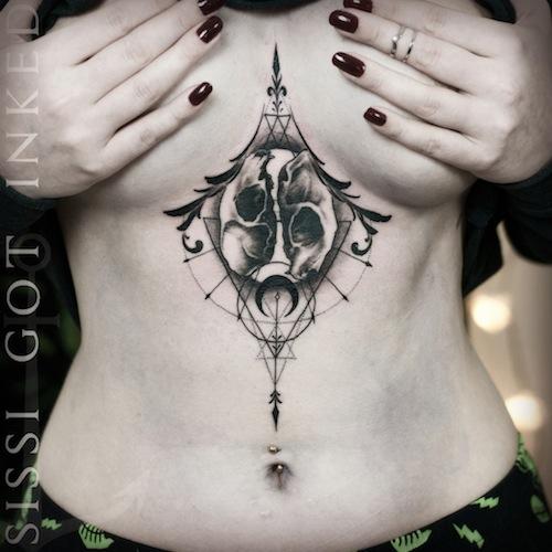 underboob tattoo 54