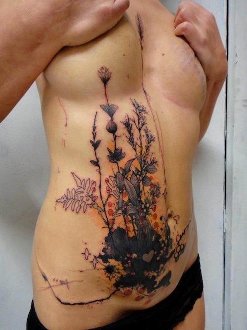 Stunning Tattoos Inspired by Alphonse Mucha - Tattoo.com