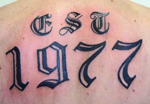 number 29 tattoo
